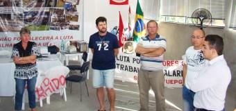 Deputado Aliel Machado (PCdoB) visita sindicato e coloca-se a disposição do trabalhador