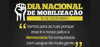 Movimentos sociais organizam ato pela democracia