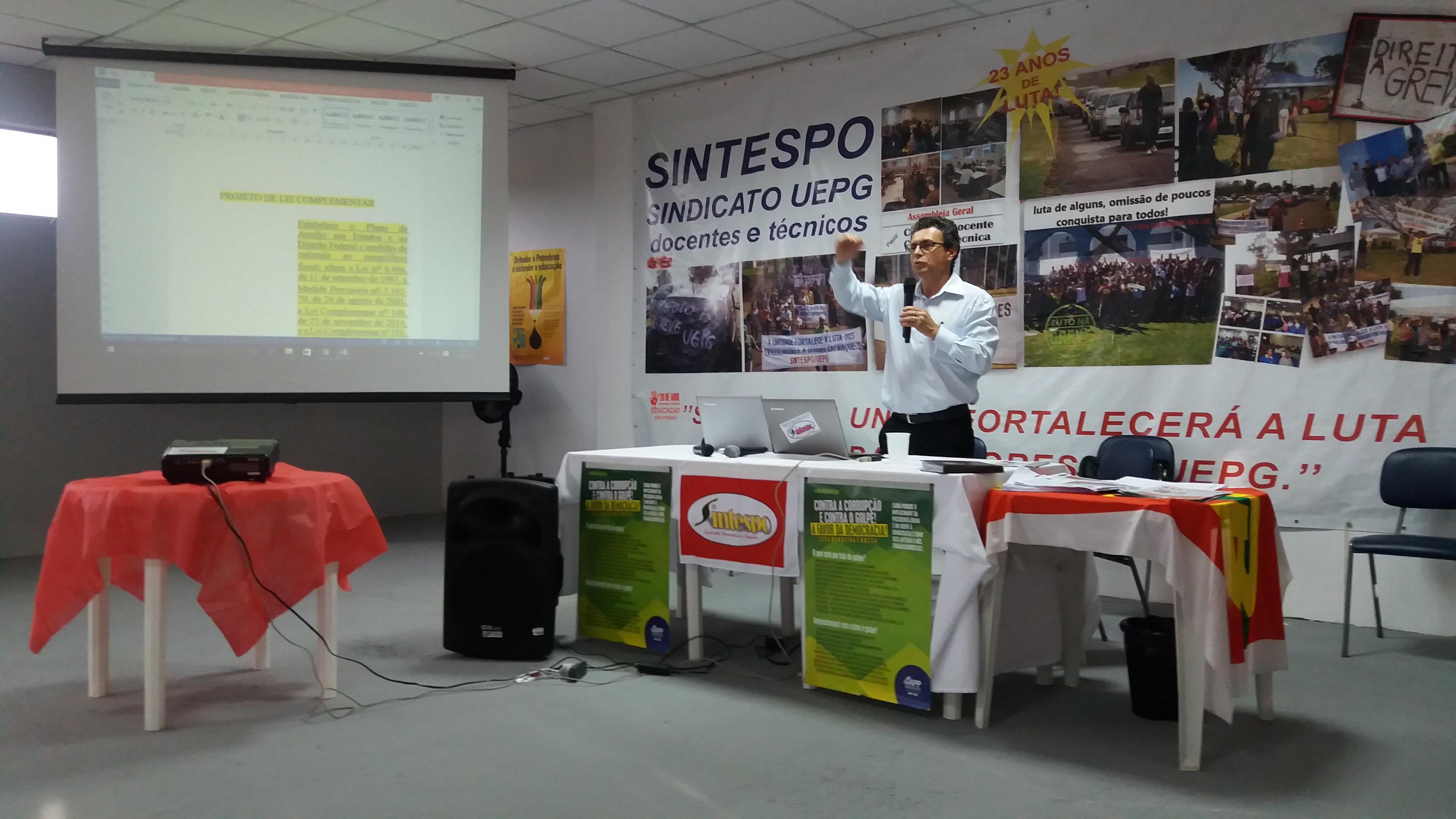 SINTESPO realiza palestra sobre ataques aos direitos trabalhistas