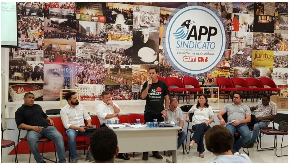 SINTESPO participa de Plenária Estadual do FES – Fórum das Entidades Sindicais