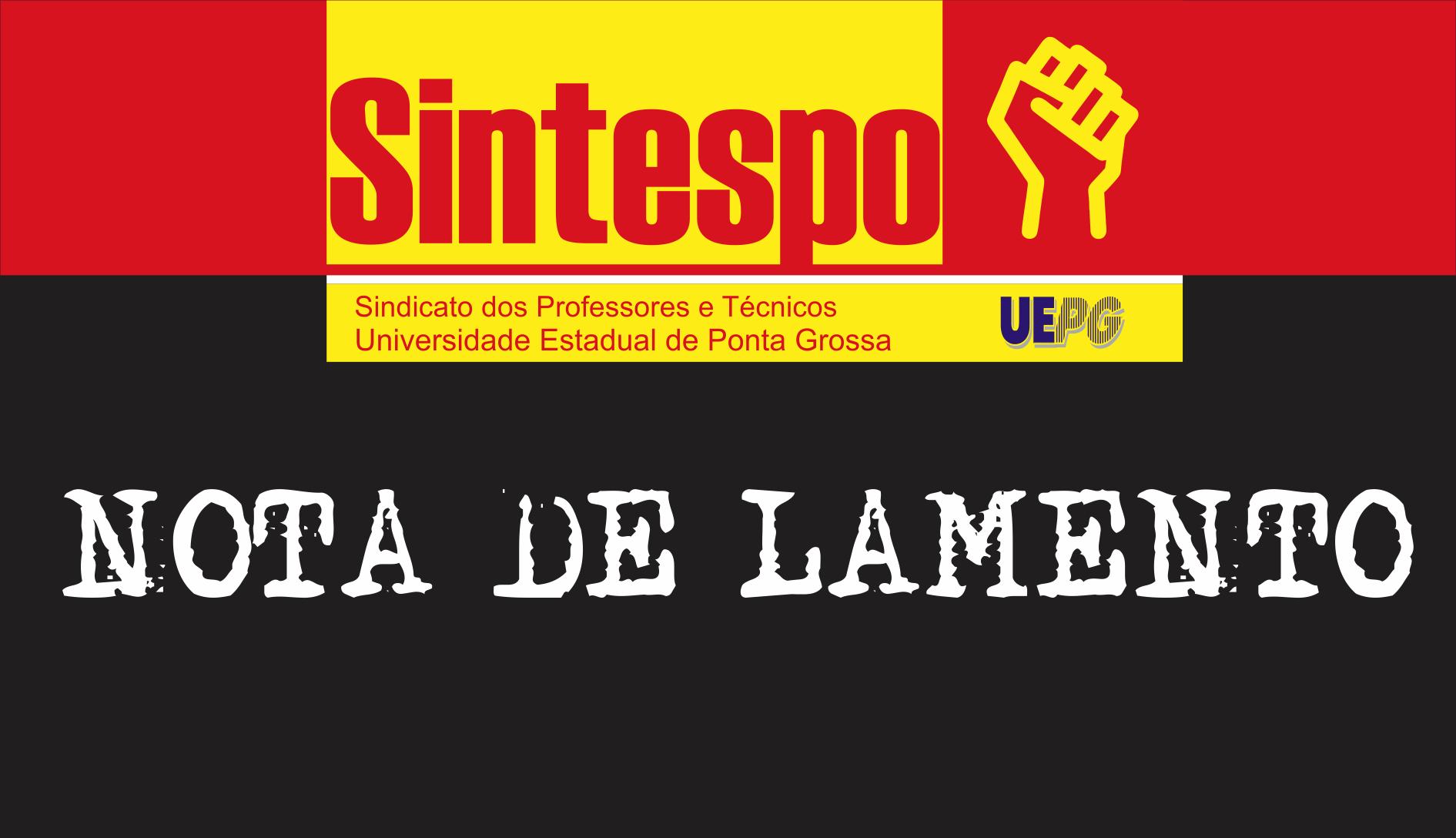 NOTA DE LAMENTO (LDO 2017)